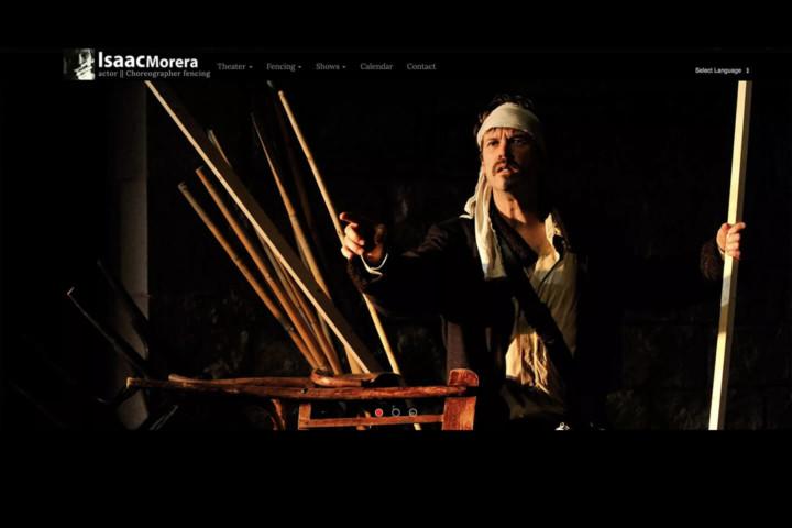 Isaac Morera Website