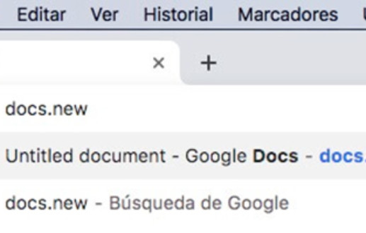 How to use Google Web Shortcuts to create documents and events quickly in Google Docs